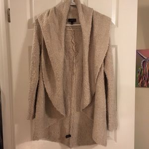 Limited Fluffy Boucle Open Cardigan